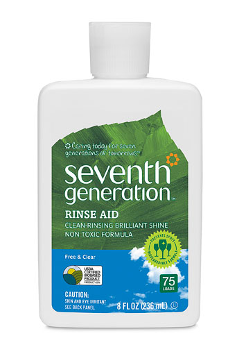Seventh Generation Rinse Aid - Free and Clear