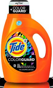 Tide Plus Colorguard