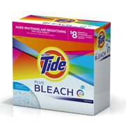 Tide HE plus Bleach Alternative powder