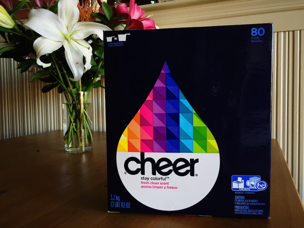 Cheer Powder Laundry Detergent for HE Machines